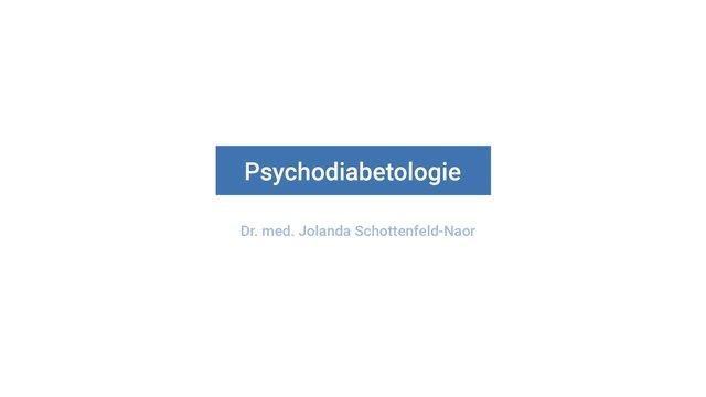 Psycho-Diabetologie: Was macht Diabetes mit der Psyche?