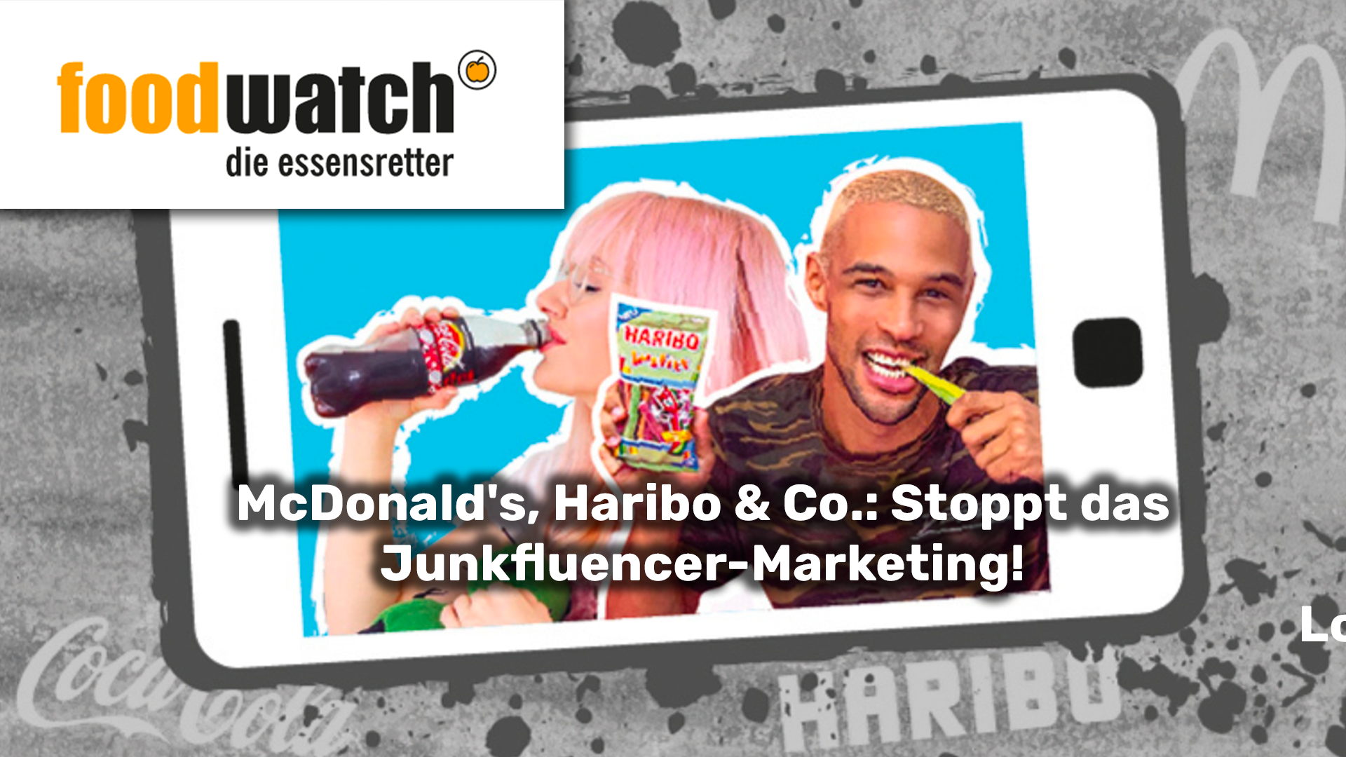 McDonald's, Haribo & Co.: Stoppt das Junkfluencer-Marketing!