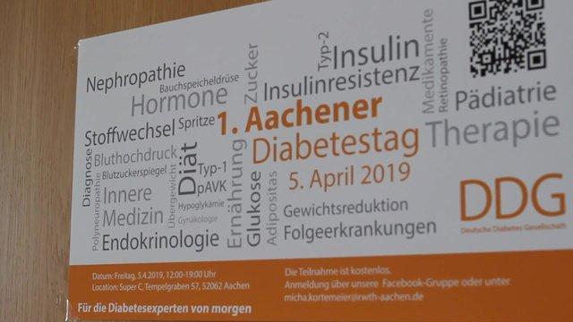 Der erste Aachener Diabetestag