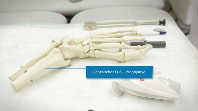 Diabetischer Fuß – Prophylaxe