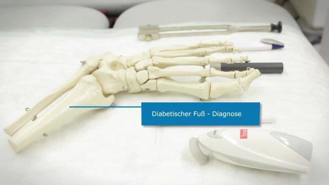 Diabetischer Fuß – Diagnose