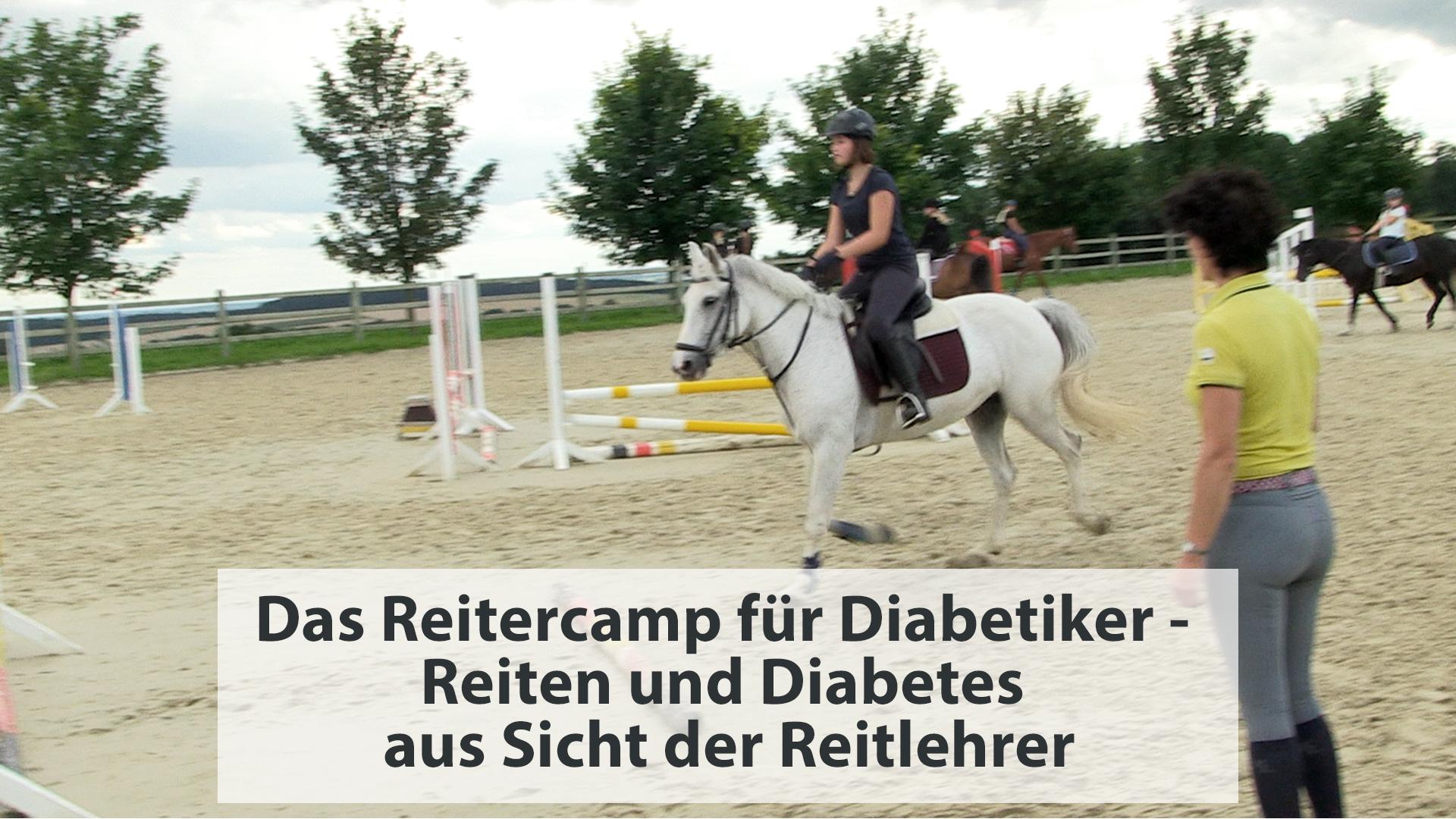 Das Reitercamp für Diabetiker – Reiten und Diabetes aus Sicht der Reitlehrer