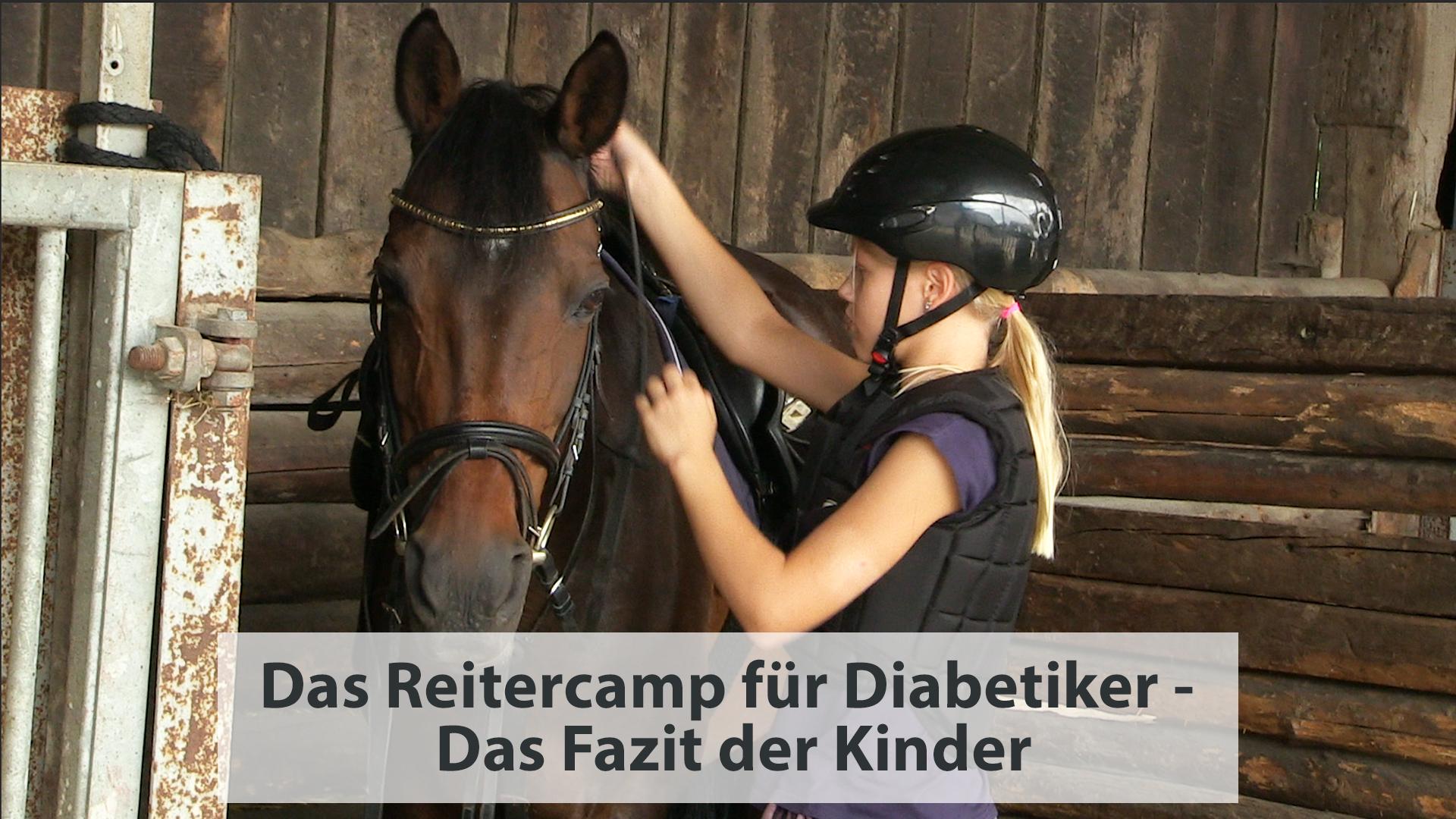 Das Reitercamp für Diabetiker – Das Fazit der Kinder