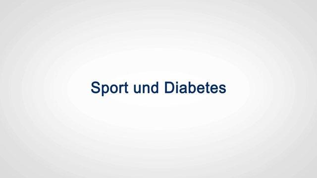 Mythos: Diabetes und Sport