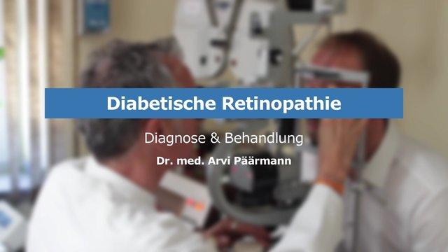 Die Diabetische Retinopathie – Diagnose & Behandlung