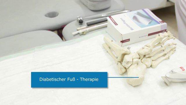 Diabetischer Fuß – Therapie