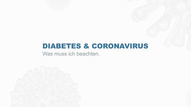 DIABETES & CORONAVIRUS