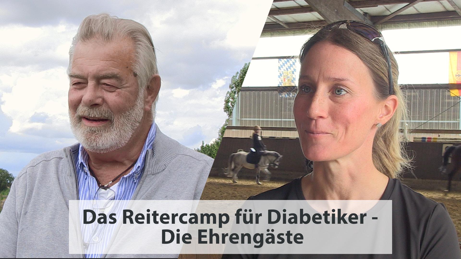 Das Reitercamp für Diabetiker – Die Ehrengäste