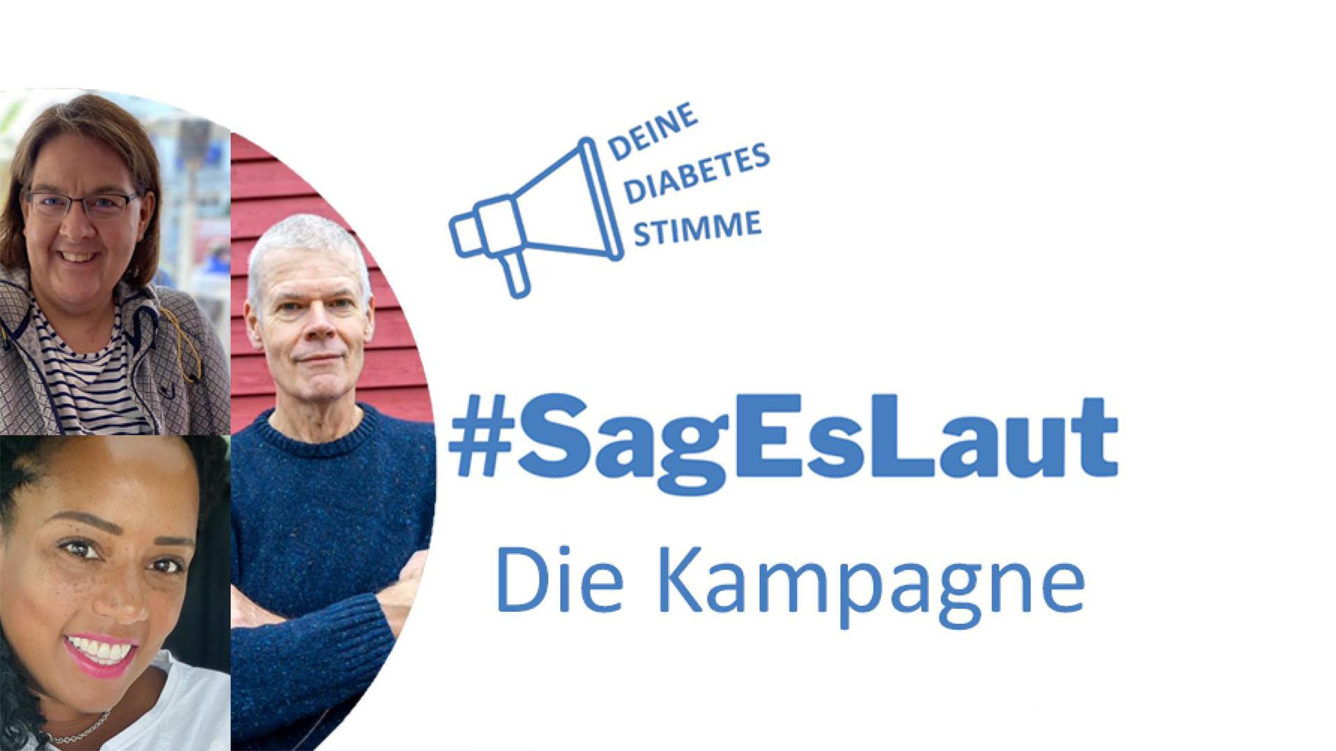 #SagEsLaut: Sichtbarkeit für Menschen mit Typ-2-Diabetes